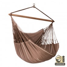 """Hanging Chair lounger"" La Siesta Habana Chocolate - By the Hammock Shop of Canada"