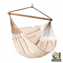 """Hanging Chair lounger"" La Siesta Habana Nougat - By the Hammock Shop of Canada"