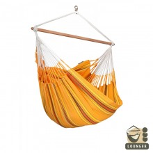 """Hanging Chair lounger"" La Siesta Currambera Apricot - By the Hammock Shop of Canada"
