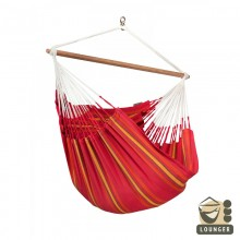 """Hanging Chair lounger"" La Siesta Currambera Cherry - By the Hammock Shop of Canada"