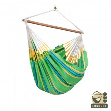 """Hanging Chair lounger"" La Siesta Currambera Kiwi - By the Hammock Shop of Canada"