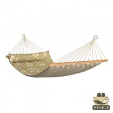 """Double Hammock"" with bars Hawaii Coconut - By the Hammock Shop of Canada"