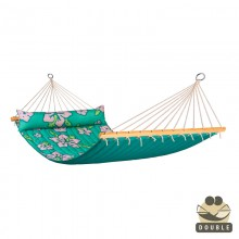 """Double Hammock"" with bars Hawaii Palm - By the Hammock Shop of Canada"
