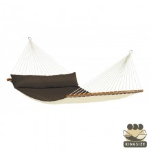 """Kingsize Hammock with bars"" La Siesta Alabama Arabica - By the Hammock Shop of Canada"