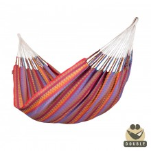 """Double Hammock"" La Siesta Carolina Flowers - By the Hammock Shop of Canada"