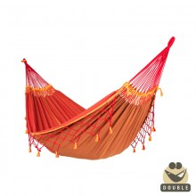 """Double Hammock"" La Siesta Copa furia roja - By the Hammock Shop of Canada"