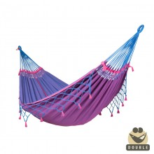 """Double Hammock"" La Siesta Copa samurai blue - By the Hammock Shop of Canada"