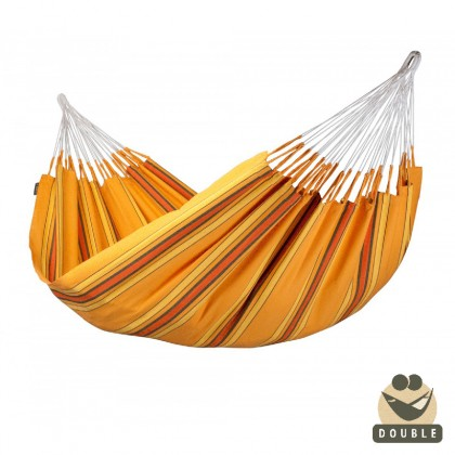 Double Hammock La Siesta Currambera Apricot - from your hammocks shop in Canada