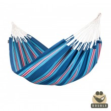 """Double Hammock"" La Siesta Currambera Blueberry - By the Hammock Shop of Canada"