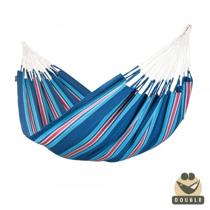 Double Hammock La Siesta Currambera Blueberry - from your hammocks shop in Canada