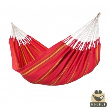 """Double Hammock"" La Siesta Currambera Cherry - By the Hammock Shop of Canada"
