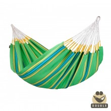 """Double Hammock"" La Siesta Currambera Kiwi - By the Hammock Shop of Canada"