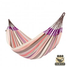 """Family hammock"" La Siesta Domingo Plum - By the Hammock Shop of Canada"