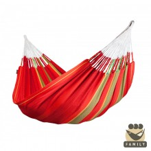 Kingsize hammock La Siesta Flora Chili - from your hammocks shop in Canada