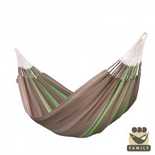 """Family hammock"" La Siesta Flora Chocolate - By the Hammock Shop of Canada"
