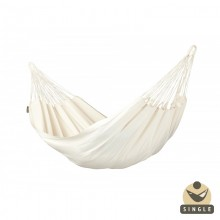 """Single hammock"" La Siesta Modesta Latte - By the Hammock Shop of Canada"