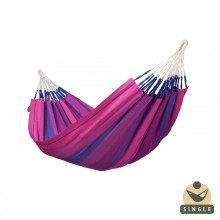 """Single hammock"" La Siesta Orquidea Purple - By the Hammock Shop of Canada"