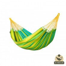 """Single hammock"" La Siesta Sonrisa Lime - By the Hammock Shop of Canada"