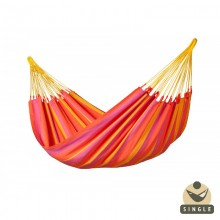 """Single hammock"" La Siesta Sonrisa Mandarine - By the Hammock Shop of Canada"