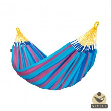 """Single hammock"" La Siesta Sonrisa Prune - By the Hammock Shop of Canada"