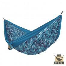 """Double hammock"" for travel Colibri CAMO River - By the Hammock Shop of Canada"