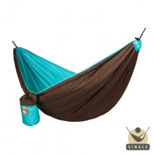 Single Padded Travel Hammock COLIBRI turquoise - By the Hammock Shop of Canada