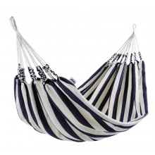 """Single hammock"" Naya Nayon La Marinera (Stripe Blue) - By the Hammock Shop of Canada"