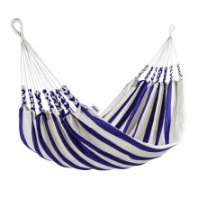 """Single hammock"" Naya Nayon La Marinera (Stripe Clear Blue) - By the Hammock Shop of Canada"