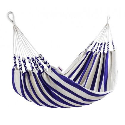 Double hammock Naya Nayon La Marinera (Stripe Clear Blue) - from your hammocks shop in Canada