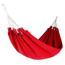 """Single hammock"" Naya Nayon La Chagra (Red) - By the Hammock Shop of Canada"