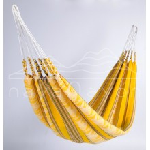 Hammock single Naya Nayon Otavaleña (yellow) - By the Hammock Shop of Canada
