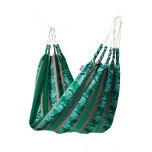 Hammock single Naya Nayon Otavaleña (green) - By the Hammock Shop of Canada