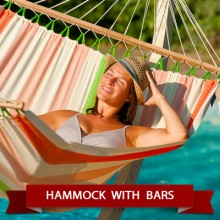 Hammocks with spreader bars