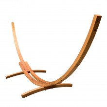 Solid Pine Arc Hammock Stand 15ft - By the Hammock Shop of Canada